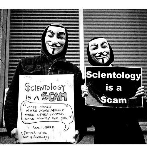 Is scientology a real religion or another scam to avoid taxes?